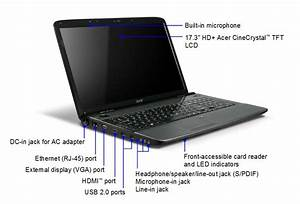 Acer Aspire 7740 17 3 Inch Laptop  Intel Core I3