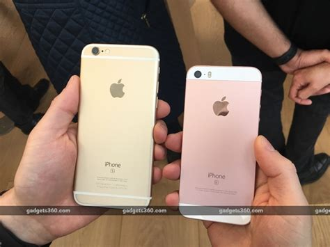 iphone 6s 64gb rosegold iphone se what you don 39 t get when compared to the iphone