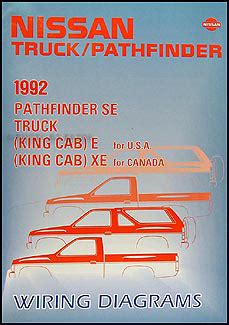 King Wiring Diagram 1992 by 1987 1995 Nissan Pathfinder And Truck Repair Shop