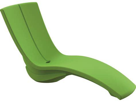 chaise en polypropylène tropitone curve recycled plastic chaise lounge set