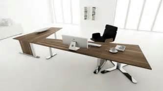L Shaped Executive Desk by Modern Home Office Desk Design White Interior Decobizz Com
