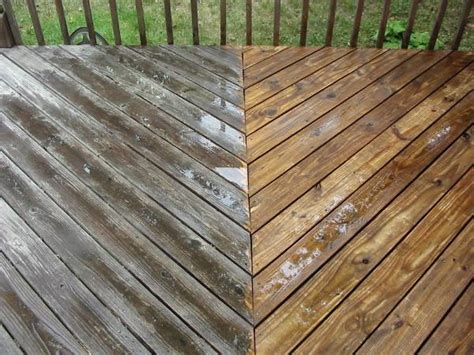 cleaning wood deck with deck cleaning in des moines ia