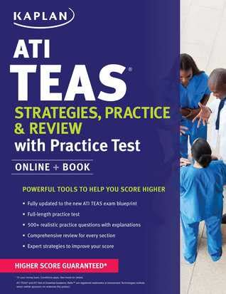 ati teas strategies practice review   practice tests