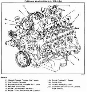 Where Is The Pcv Valve On A 2001 Chevy Tahoe W   5 3l V8