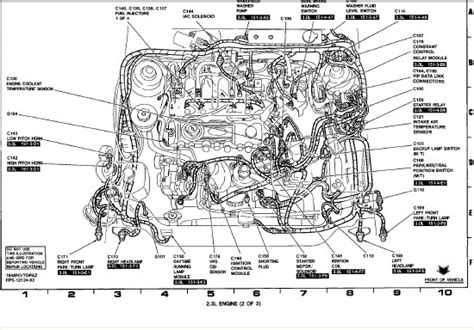 93 Ford Tempo Fuse Box Diagram by Ford Tempo Fuel Relay Gt A 2 3 Liter And Is A 4