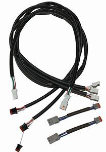 complete handlebar wiring harness extension kit fits up With custom wiring harness kits