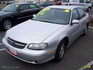 2002 Galaxy Silver Metallic Chevrolet Malibu Ls Sedan
