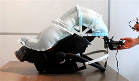 Baby Car Seat With Airbags by Is The Carkoon Child Car Seat A Step Far In Car Safety
