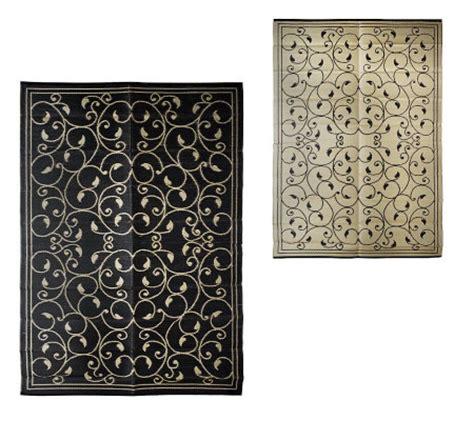 scroll design 9x12 ft reversible outdoor mat by royal sun