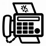 Fax Icon Clipart Cartoon Primary Openclipart Internet