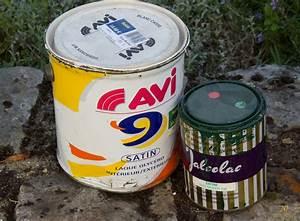 les differentes peintures destinees a l39usage domestique With temps sechage peinture glycero