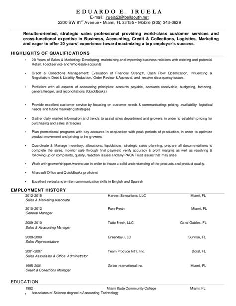 Functional Expertise In Resume by Eduardo Iruela Resume Sales Executive With Cross Functional E