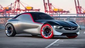 2016, Opel, Gt, Concept