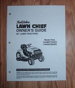 Mtd True Value Lawn Chief 13am673g022 13ag678g022 Lawn