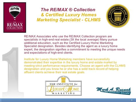 Mark Rusnak's Listing Presentation @ Re/max Allegiance