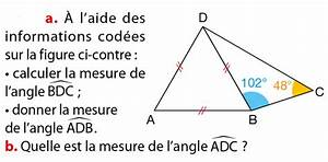 Le Triangle   Exercices De Maths 5 U00e8me  Cinqui U00e8me   U00e0