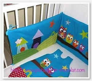 Linge De Lit Bébé Garçon : toute la famille hibou x dans le linge de lit de b b voir ~ Melissatoandfro.com Idées de Décoration