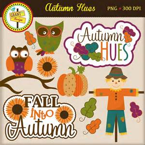 Cute Fall Owl Clip Art