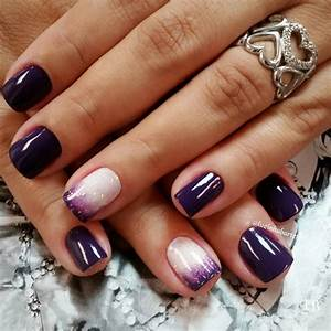 Purple nail art ideas nenuno creative