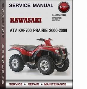 Kawasaki Atv Kvf700 Prairie 2000