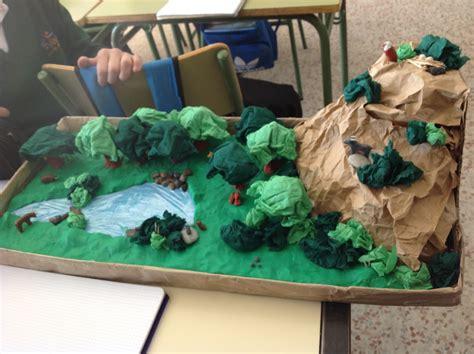 maqueta de ecosistema terrestre maqueta de ecosistema terrestre maqueta de ecosistema