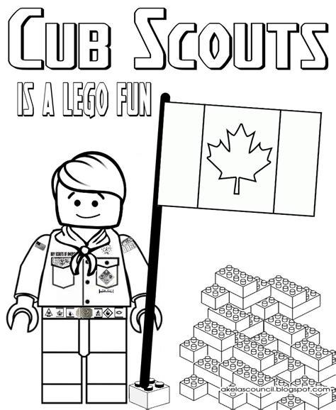 cub scout coloring pages akela s council cub scout leader lego cub scout