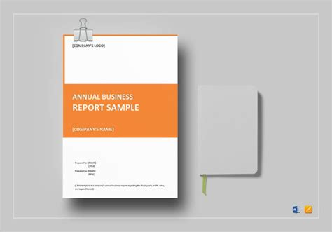35+ Business Report Template