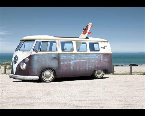 15 Vw Combi Van Hd Wallpapers Volkswagen Kombi Hippie Bus