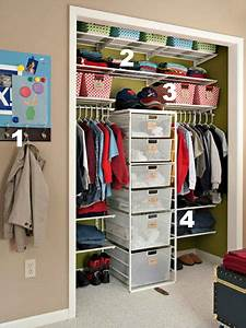 home sweet home on a budget organizing kids closets diy With the tips to apply closet organizer ideas