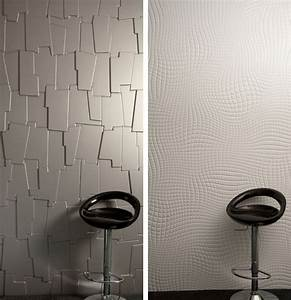 Decorative wall panels with a strong visual effect