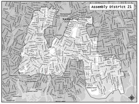 assembly district maps lynbrook virtually intact herald