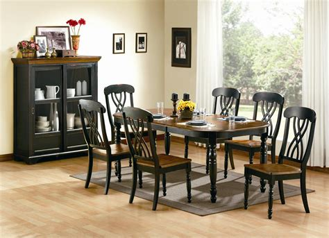 black dining room chairs drew home