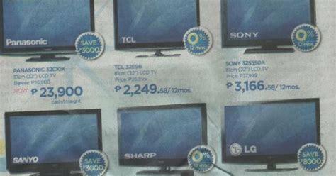lcd led tvs philippines  price comparisons abensons