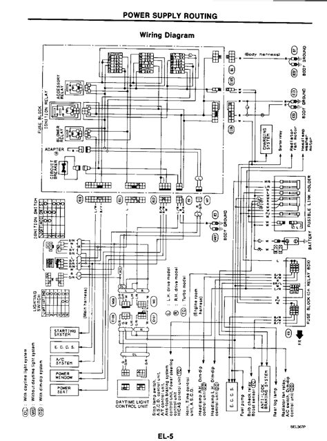Free Auto Wiring Diagram Nissan Power Supply