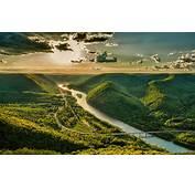 Landscape Nature River Highway Road Valley Bridge