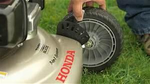 Honda Hrr216vla 160cc 21 In  Gas Lawn Mower Operation