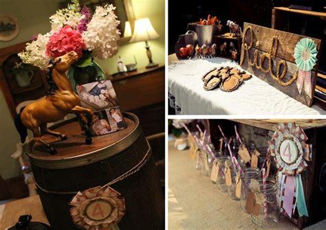 Kara's Party Ideas » Horse Themed 4th Birthday Party With