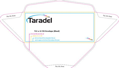 envelope template illustrator taradel envelopes templates