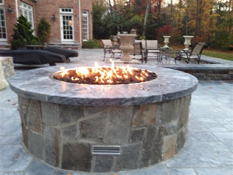 outdoor gas pits choosing the feature for your backyard the