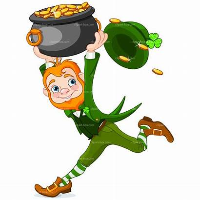 Leprechaun Clip Clipart Leprechauns Irish Gold Shamrock