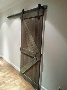 22 best images about master barn door cabinet on With barn door header board