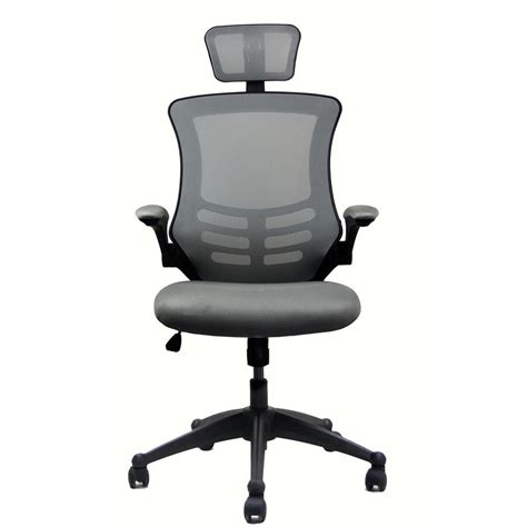 reclining high back executive mesh office chair silver