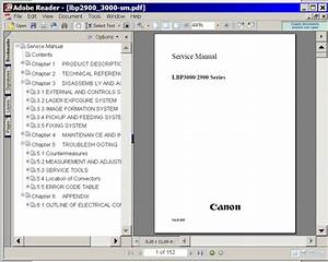 Canon Lbp1120 Lbp 1120 Service Manual   Parts Catalog