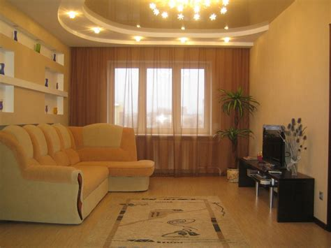 contemporary small living room beige walls  house