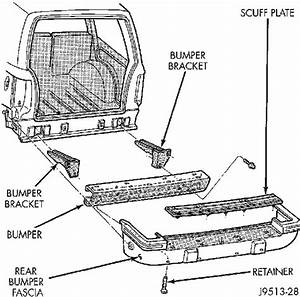 How To Remove Rear Bumper Brackets On 94 Jeep Cherokee