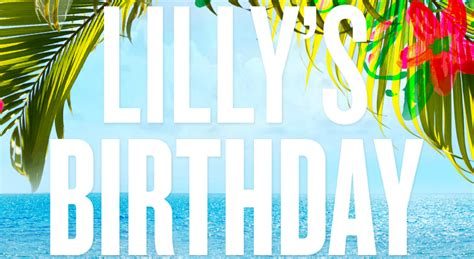Happy Birthday, Lilly Pulitzer!! + A Giveaway! Sweet