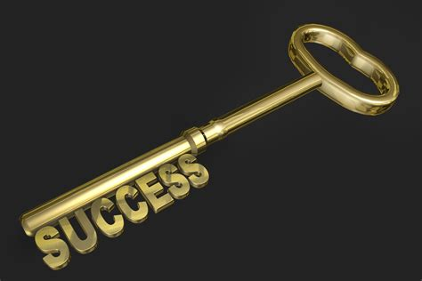 Success Key Gold free image download