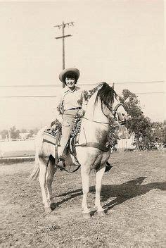 early cowgirl anna hanson stetson hat horn ranch bonham