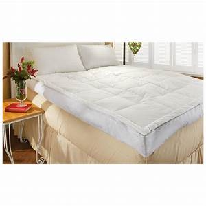 5quot down pillow top feather bed 420872 mattress toppers for Down pillow top mattress topper