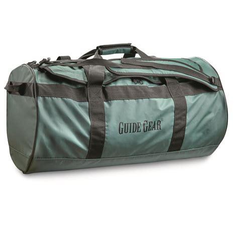 Guide Gear Waterproof Duffel Bag, 90 Liters - 623632, Gear